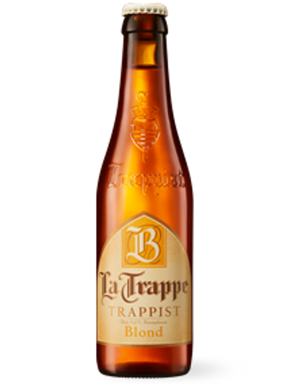La Trappe Trappist Blond - Bot. 330ml.