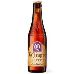 Cerveza La Trappe Quadrupel botella 330cc