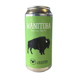 Cerveza Jester Manitoba American Pale Ale lata 473cc