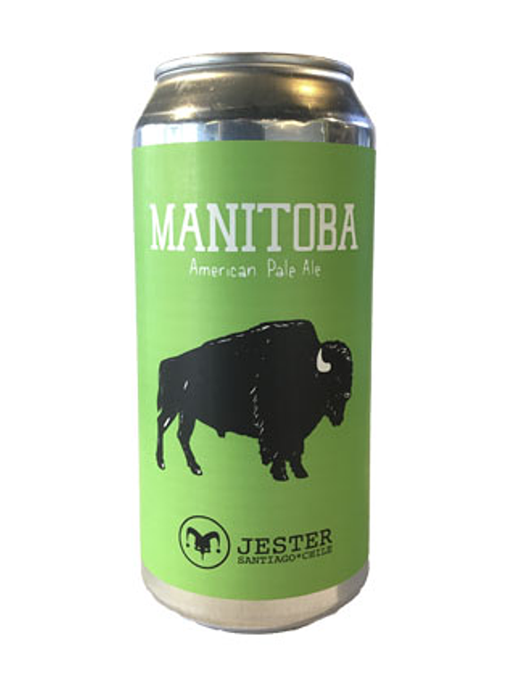 Jester Manitoba American Pale Ale - Lata 473ml.