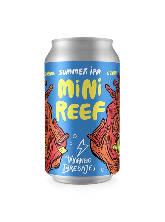 Tamango Mini Reef Summer IPA Lata 355ml