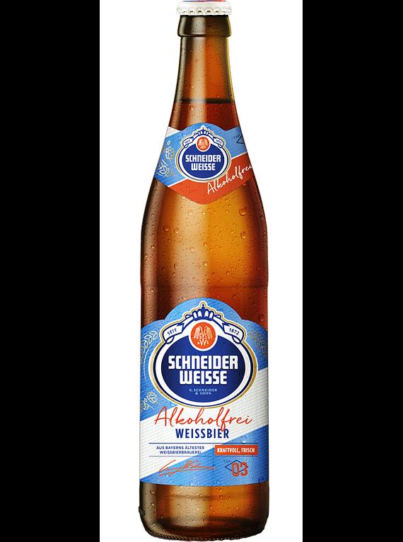 Cerveza Schneider Weisse Tap 3 Alkoholfrei botella 500cc