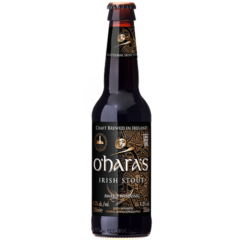O´Haras Irish Stout botella 330cc
