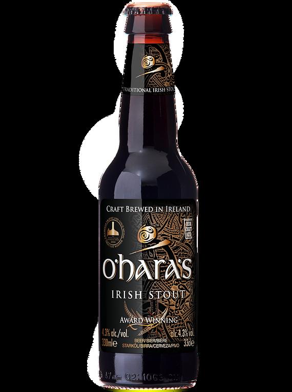 Cerveza O'Hara's Irish Stout botella 330cc