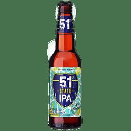 Cerveza O'Hara's 51st State IPA botella 330cc