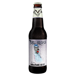 Action Sale! Cerveza Flying Dog Pearl Necklace Stout botella 355cc