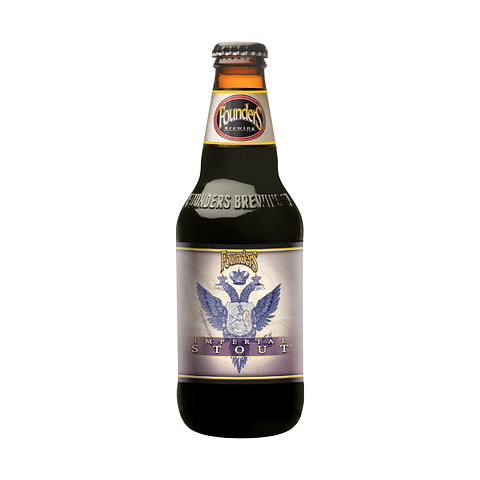 Cerveza Founders Imperial Stout botella 355cc