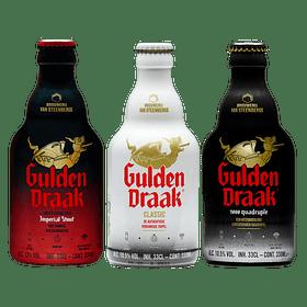 3x! Cerveza Belga Gulden Draak Variedades