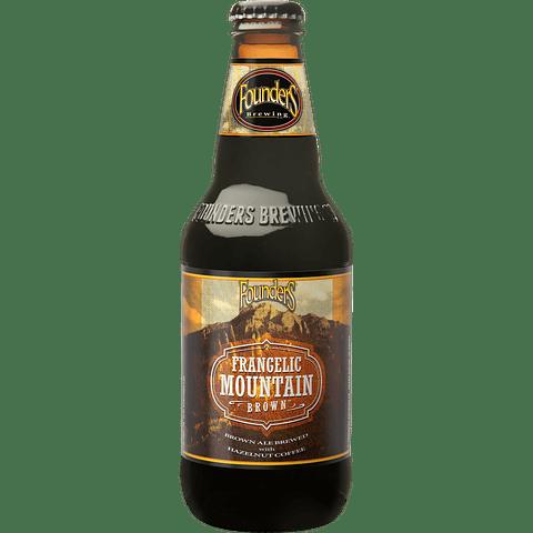 Cerveza Founders Frangelic Mountain Brown botella 355cc