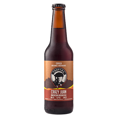 Tropera Crazy Juan Brown Ale botella 330cc