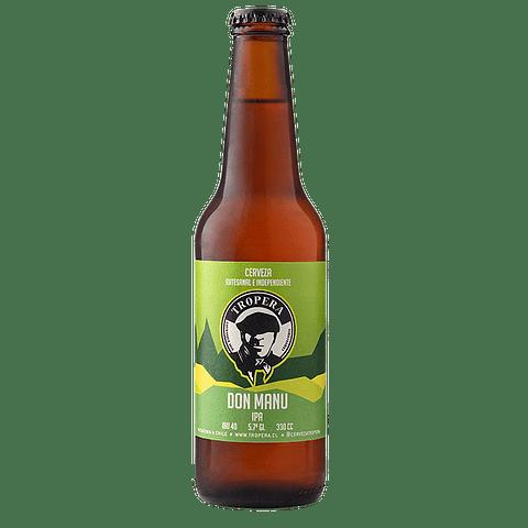 Cerveza Tropera Don Manu Ipa 330cc