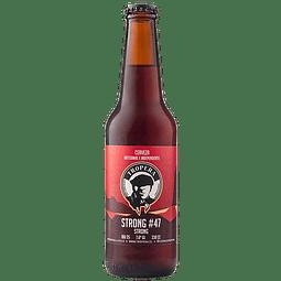 Cerveza Tropera Strong#47 botella 330cc