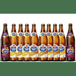 10x! Cervezas Alemanas Schneider Weisse 500cc