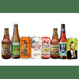 """8x! Cervezas IPA Variedades """"Amárgame la Vida"""""""