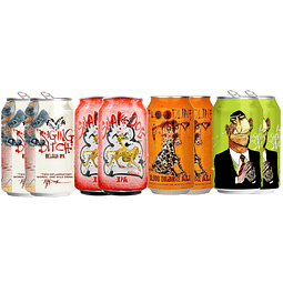 """Action"" 8x! Cervezas EEUU Flying Dog ""IPAs Selection"""