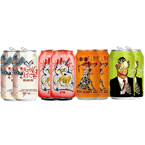 Flying Dog IPAs Selection - Pack 8 unid.