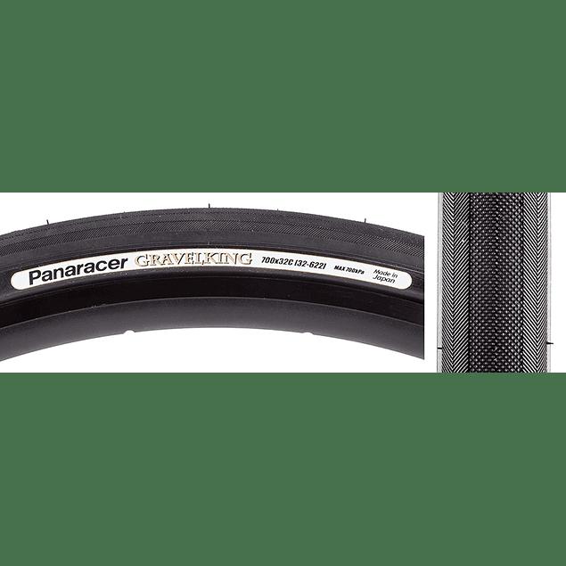 NEUMATICOS PANARACER GRAVELKING SLICK PLUS 700X32c (All Black)
