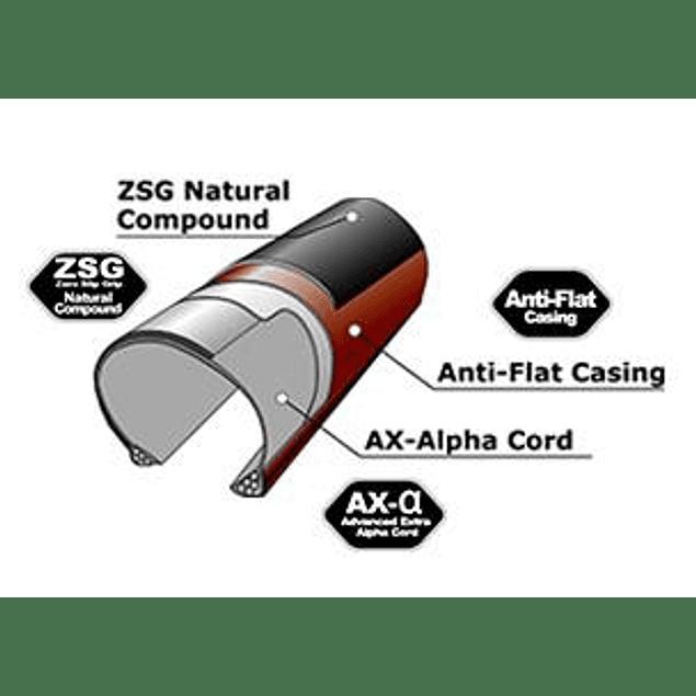 NEUMATICO PANARACER GRAVELKING SLICK 700x38c (AMARILLO C/SIDEWALL BLACK)