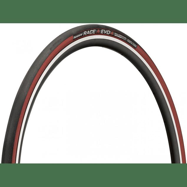 NEUMATICOS PANARACER RACE A EVO4 700X25 (Sidewall RED)