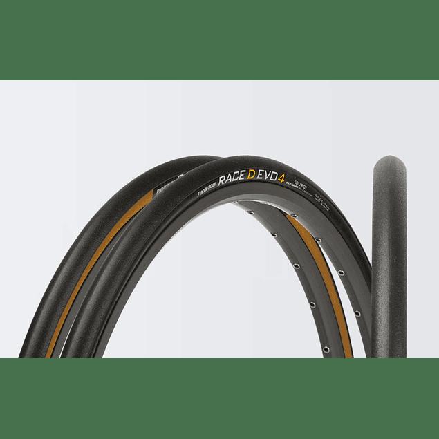 NEUMATICOS PANARACER RACE D EVO4 700X25 (Sidewall CAFE)
