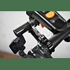 JUIN TECH AB1-S - SOPORTE DE CARBONO/ALUMINIO DE CAMARAS/GPS/TELEFONO - CON SUSPENSION - PARA MANUBRIO DE BICICLETA - NEGRO