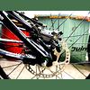 JUIN TECH M1 - KIT DE FRENO HIDRAULICO ACTIVADO POR CABLE - TIPO MTB/TIRO LARGO - PM - DISCOS DE 180MM - GRIS
