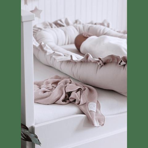 Baby Nest Glamour - Powder Pink