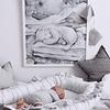 Baby Nest Glamour - Light Grey