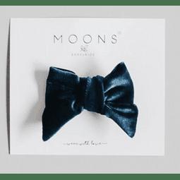 Gancho cabelo - Blue teal Bow
