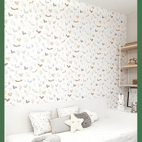 Papel de parede - Squirrels Wood