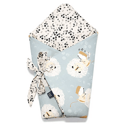 Swaddle Blanket - Wild Cats & Dots