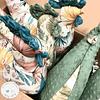 Almofada de amamentação - Boho Girl