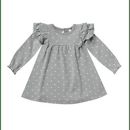 Flutter Dress - Dusty Blue