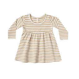 Baby Dress - Honey Stripe