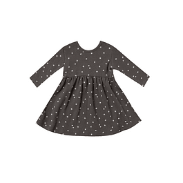 Sleeve Dress - Coal