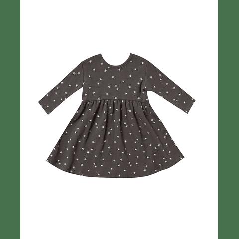 Sleeve Dress - Coal