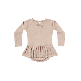 Skirted Onesie - Rose