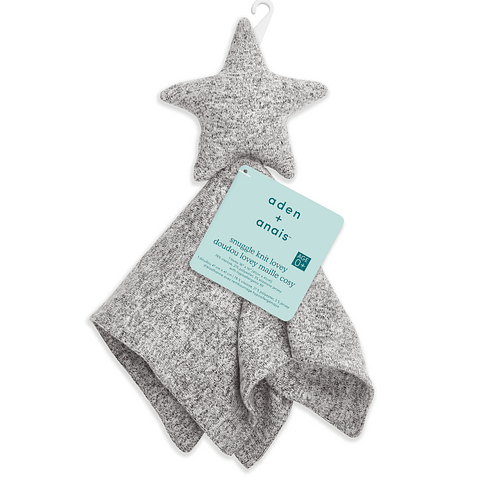 Doudou Snuggle Lovey - Grey