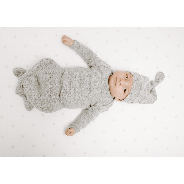 Snuggle Gown - Grey