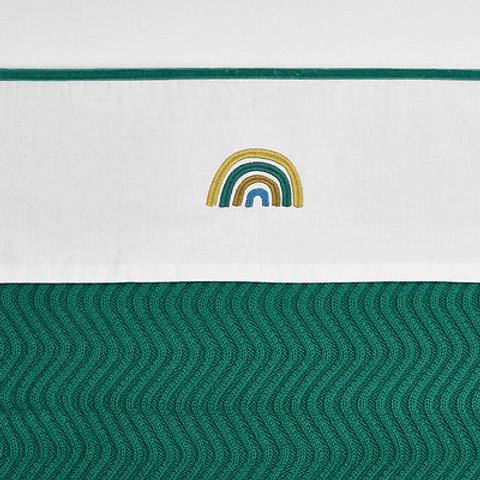 Lençol Rainbow Green - 75x100 cm