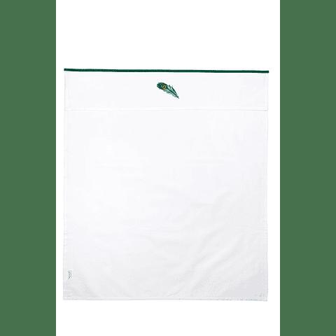Lençol Peacock Green - 75 x 100 cm