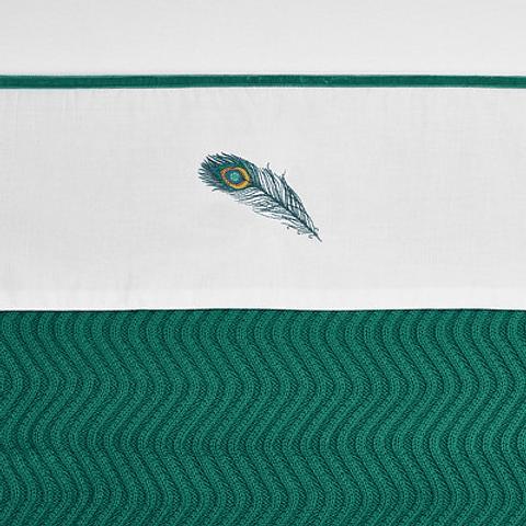 Lençol Peacock Green - 100 x 150 cm