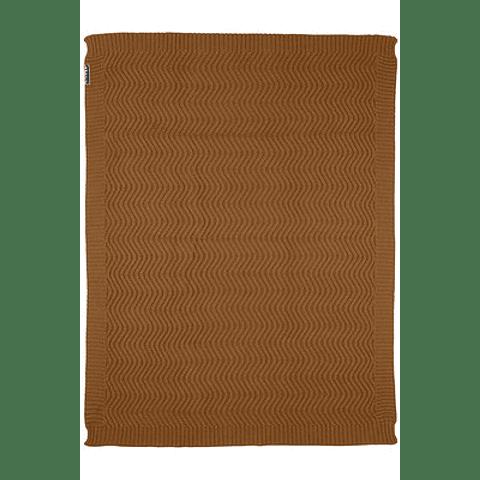 Manta Waves Camel - 75 x 100 cm