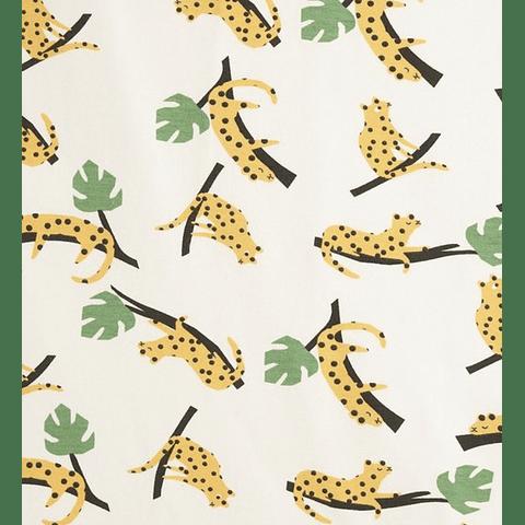 Macacão Crete - Mustard Leopard