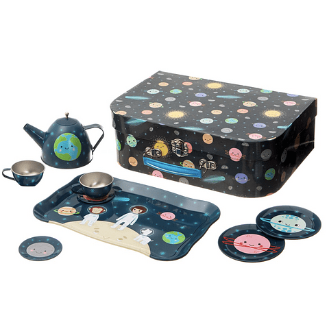 Serviço de chá - Space Explorer