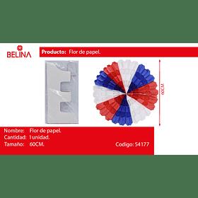 Flor de papel 60 cm