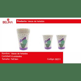 Vasos de helados