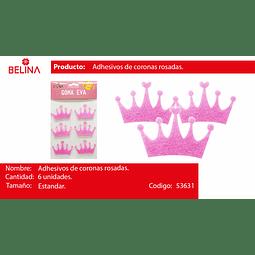 Adhesivos Corona Rosa