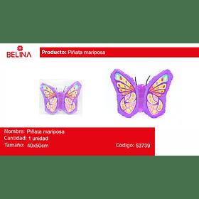 Piñata de mariposa