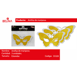 Antifaz de mariposa
